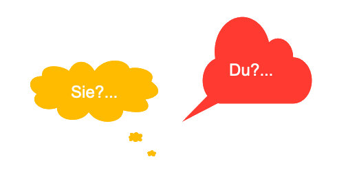 Du? Oder Sie?…